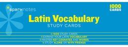 Latin Vocabulary SparkNotes Study Cards