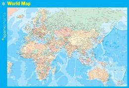 World Map SparkCharts