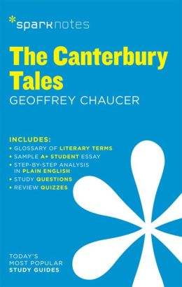 The Canterbury Tales (SparkNotes Literature Guide Series)