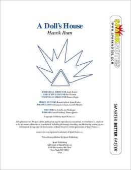 A Doll's House (SparkNotes Literature Guide Series)