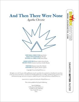 And Then There Were None (SparkNotes Literature Guide) (PagePerfect NOOK Book)