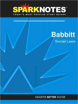 Babbitt (SparkNotes Literature Guide Series)