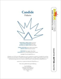 Candide (SparkNotes Literature Guide Series)
