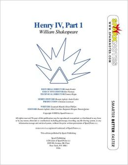 Henry IV, Part I (SparkNotes Literature Guide)