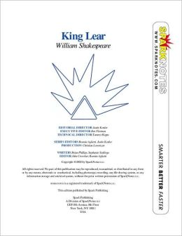 King Lear (SparkNotes Literature Guide)