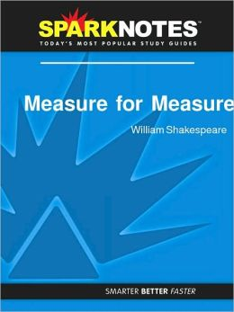 Measure for Measure (SparkNotes Literature Guide Series)
