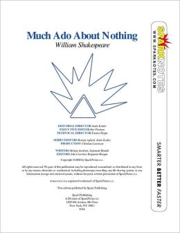 Much Ado about Nothing (SparkNotes Literature Guide Series)