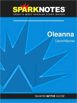 Oleanna (SparkNotes Literature Guide) (PagePerfect NOOK Book)