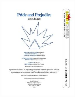 Pride and Prejudice (SparkNotes Literature Guide)