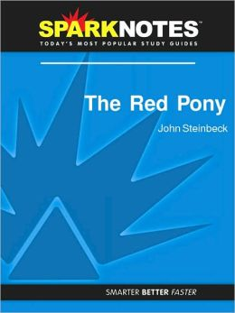 The Red Pony (SparkNotes Literature Guide Series)