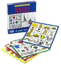 Preschool Games: Same & Different Lotto (Flash Kids Preschool Games)