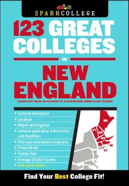 123 Great Colleges in New England (SparkCollege)