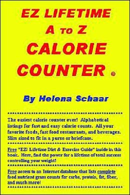 Ez Lifetime A To Z Calorie Counter