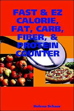 Fast and EZ Calorie, Fat, Carb, Fiber, and Protein Counter