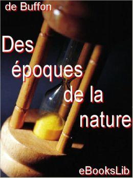 Des époques de la nature (Epochs of Nature)