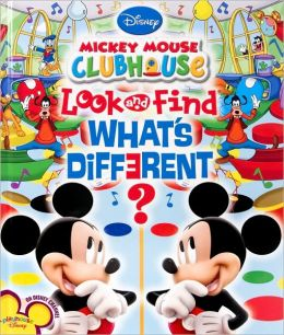 Mickey Mouse Clubhouse Look and Find: What's Different?