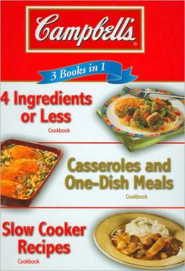 3 Books in 1: Campbell's Cookbook