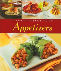 Favorite Brand Name Appetizers Cookbook