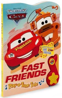 Disney/Pixar The World of Cars Fast Friends: Play-a-Tune Tale