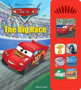 Cars: The Big Race (Little Sound Book)