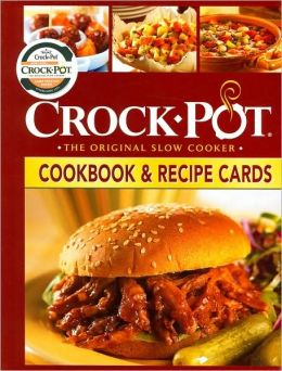 Crock-Pot Cookbook and Recipes Cards