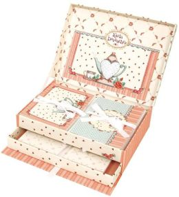 Karla Dornacher Stationery Drawer Box- Teapo