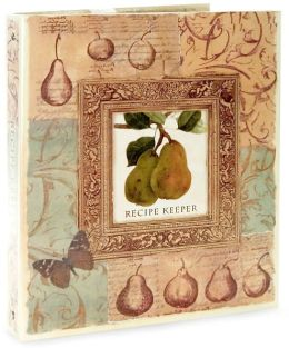Framed Pear Deluxe Recipe Binder