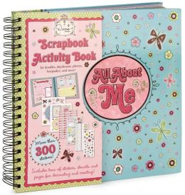 Dena: All About Me Butterfly Glitter Deluxe Tween Scrapbook
