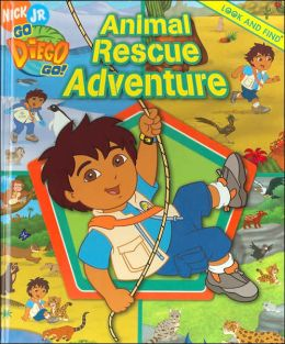 Go Diego Go: Animal Rescue Adventure Look and Find
