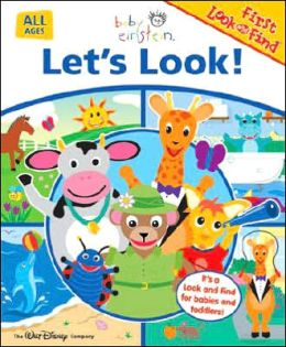 Baby Einstein Lets Look: My First Look & Find