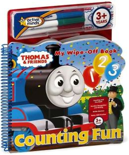Thomas & Friends Counting Fun: My Wipe-Off Book