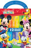 Book Cover Image. Title: Mickey Mouse Clubhouse:  12 Board Books (Book-Block Series), Author: Staff of Publications International