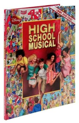 High School Musical Look and Find
