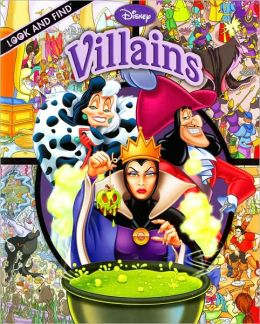 Disney Villains (Look and Find Series)