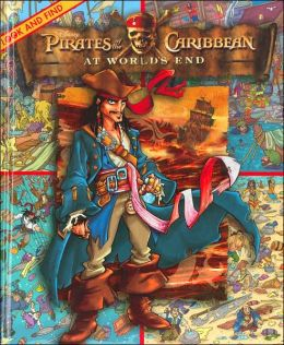Pirates of the Carribean at Worlds End: Look and Find