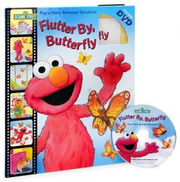 Sesame Street: Flutter By, Butterfly (Play-a-Story Series)