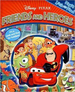 Disney/Pixer Friends and Heroes