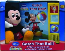 Catch that Ball: Book, Box & Plush (Mickey Mouse Clubhouse)