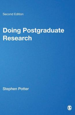 Doing Postgraduate Research