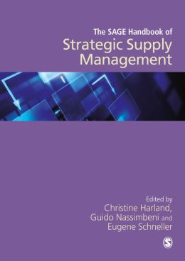 The SAGE Handbook of Strategic Supply Management