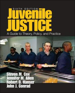 Juvenile Justice: A Guide to Theory, Policy, and Practice