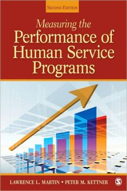 Measuring the Performance of Human Service Programs