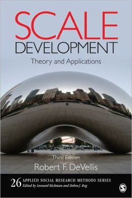 Scale Development: Theory and Applications