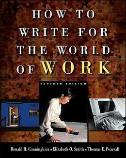 Cengage Advantage Books: How to Write for the World of Work