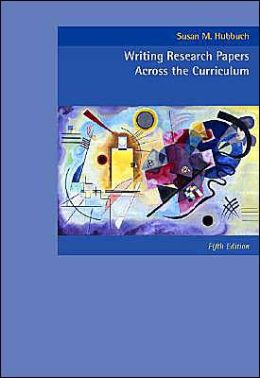 Cengage Advantage Books: Writing Research Papers Across the Curriculum (with InfoTrac )