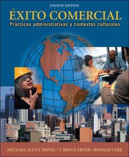 exito comercial: Practicas administrativas y contextos culturales (with Audio CD)