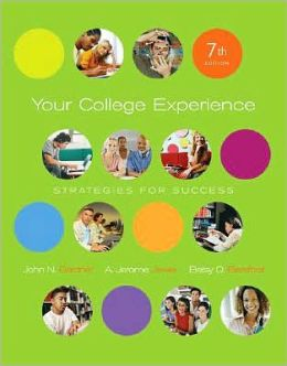 Your College Experience: Strategies for Success (with 1pass for ThomsonNOW)