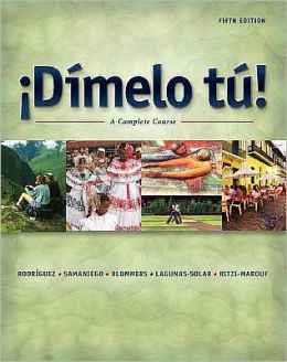 Dimelo tu!: A Complete Course, Revised Edition (with Audio CD)
