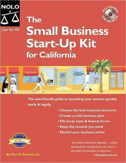 Small Business Start-up Kit for California (Law for All Series)