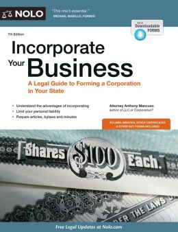 Incorporate Your Business: A Legal Guide to Forming a Corporation in Your State